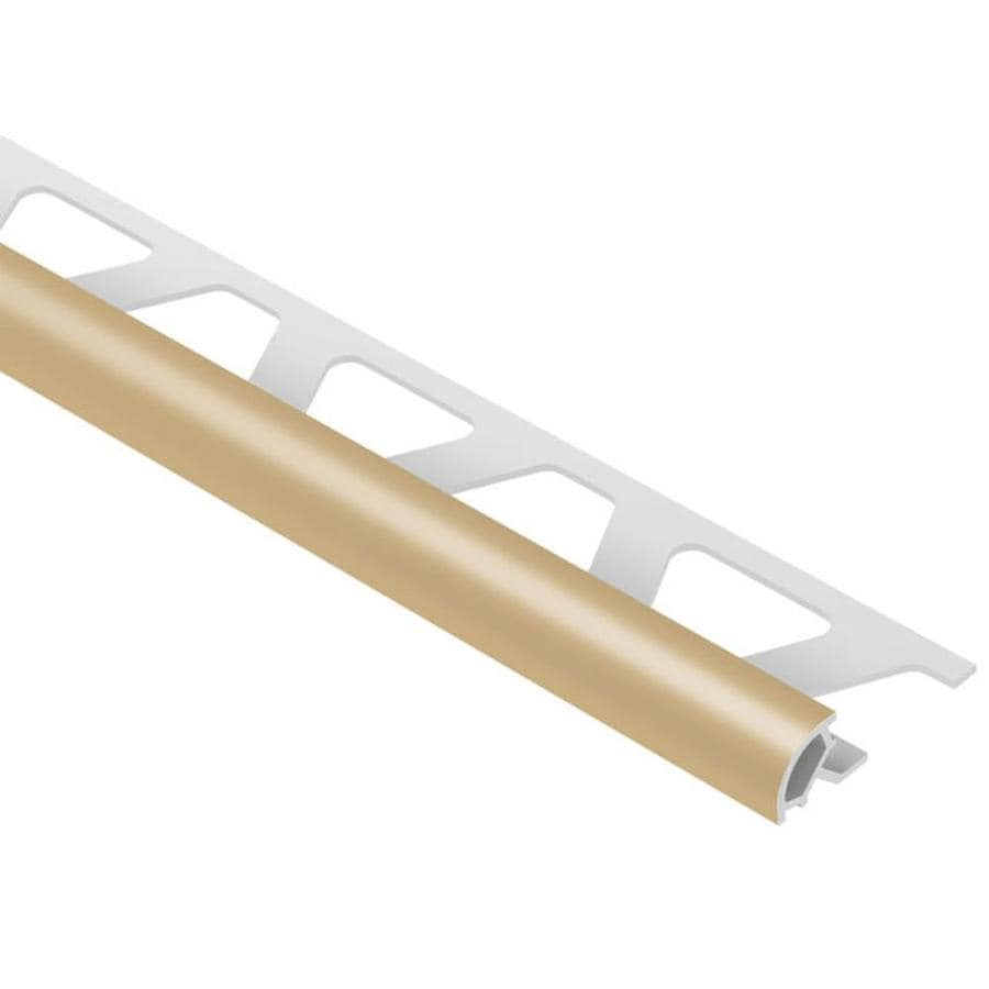 Schluter Systems Rondec 0.25-in W x 98.5-in L PVC Tile Edge Trim