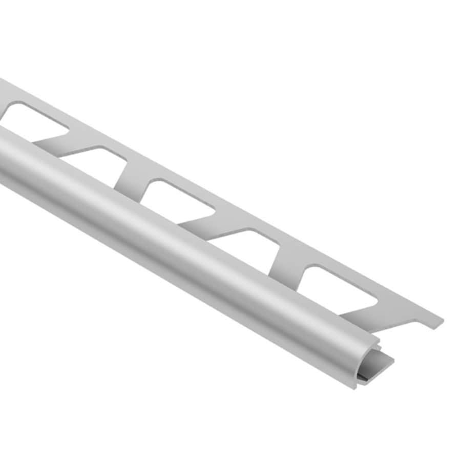 Schluter Systems Rondec 0.5-in W x 98.5-in L Aluminum Tile Edge Trim
