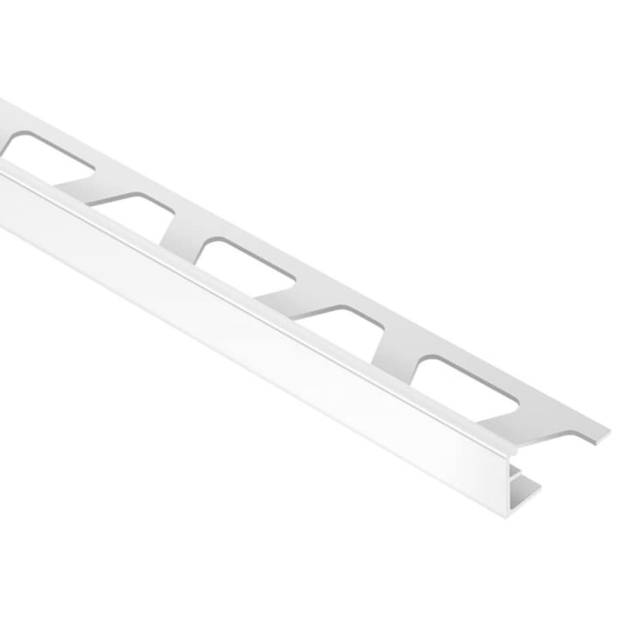 Schluter Systems Jolly 0.25-in W x 98.5-in L Aluminum Tile Edge Trim