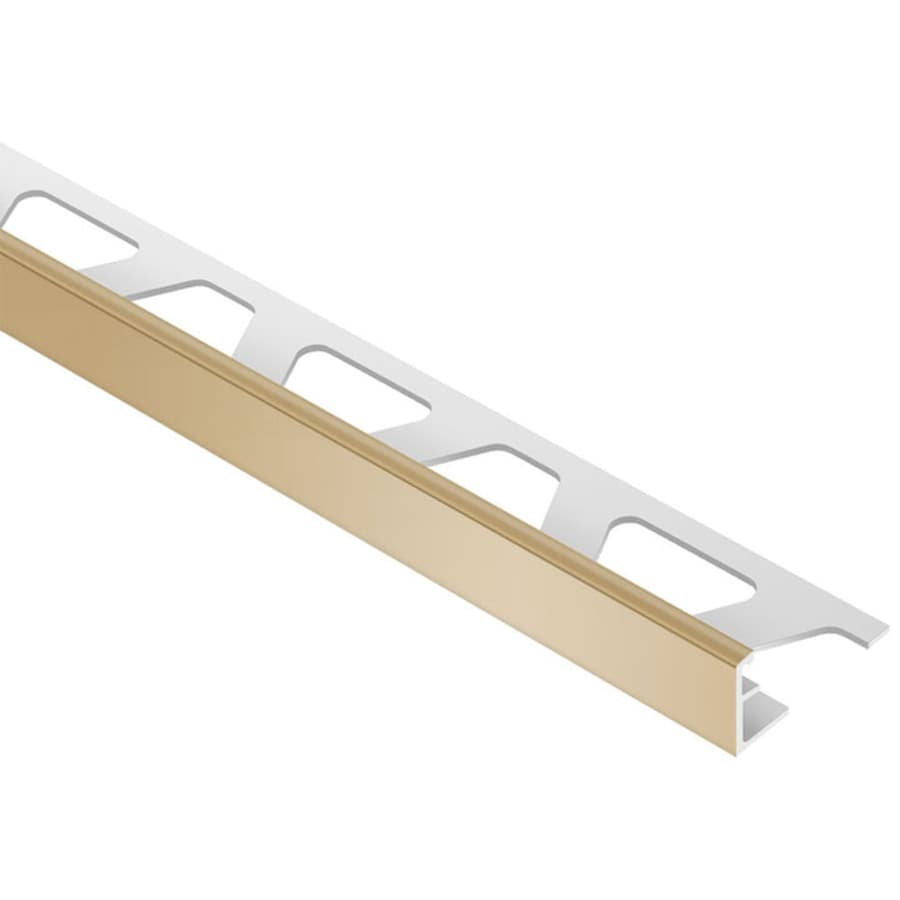 Schluter Systems Jolly 0.25-in W x 98.5-in L PVC Commercial/Residential Tile Edge Trim