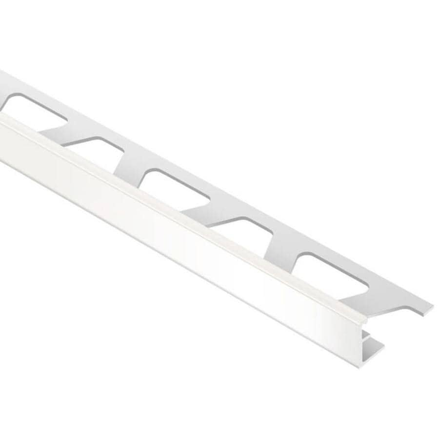 Schluter Systems Jolly 0.375-in W x 98.5-in L PVC Tile Edge Trim
