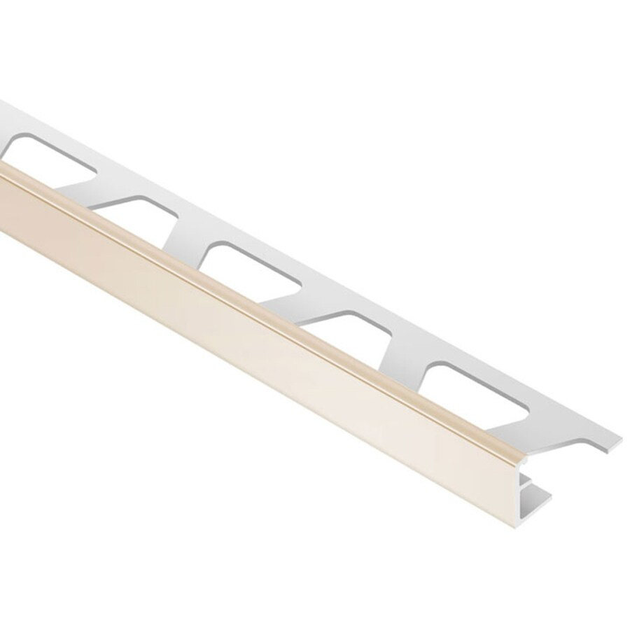 Schluter Systems Jolly 0.375-in W x 98.5-in L PVC Commercial/Residential Tile Edge Trim