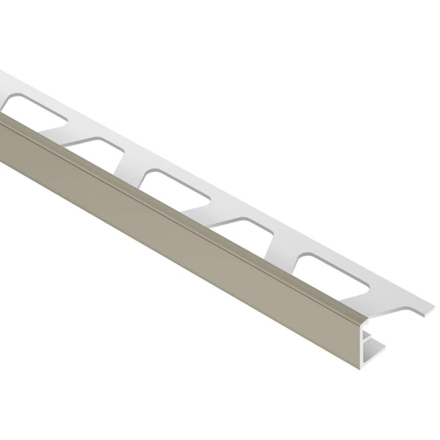 Schluter Systems Jolly 0.5-in W x 98.5-in L PVC Commercial/Residential Tile Edge Trim