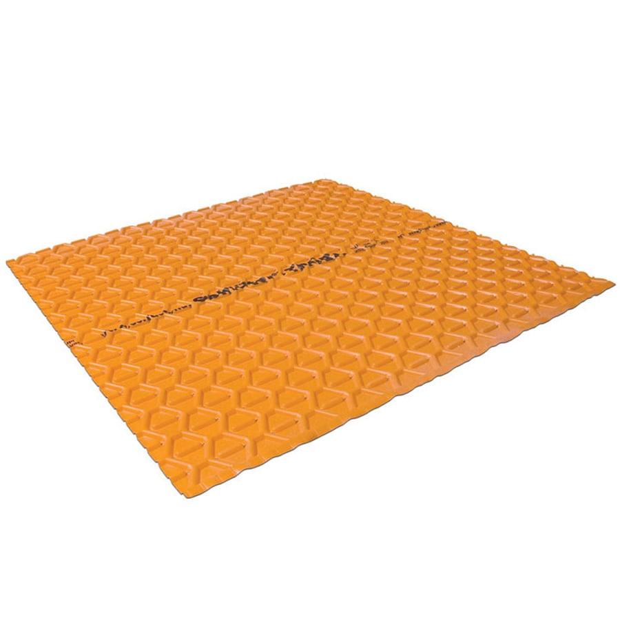 Schluter Systems Troba 10.73-sq ft Orange Plastic Waterproofing Tile Membrane