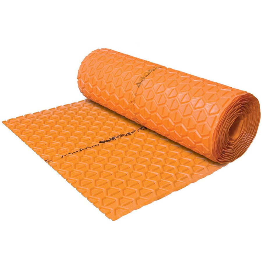 Schluter Systems 215-sq ft 0.2812-in Orange Plastic Commercial/Residential Tile Membrane