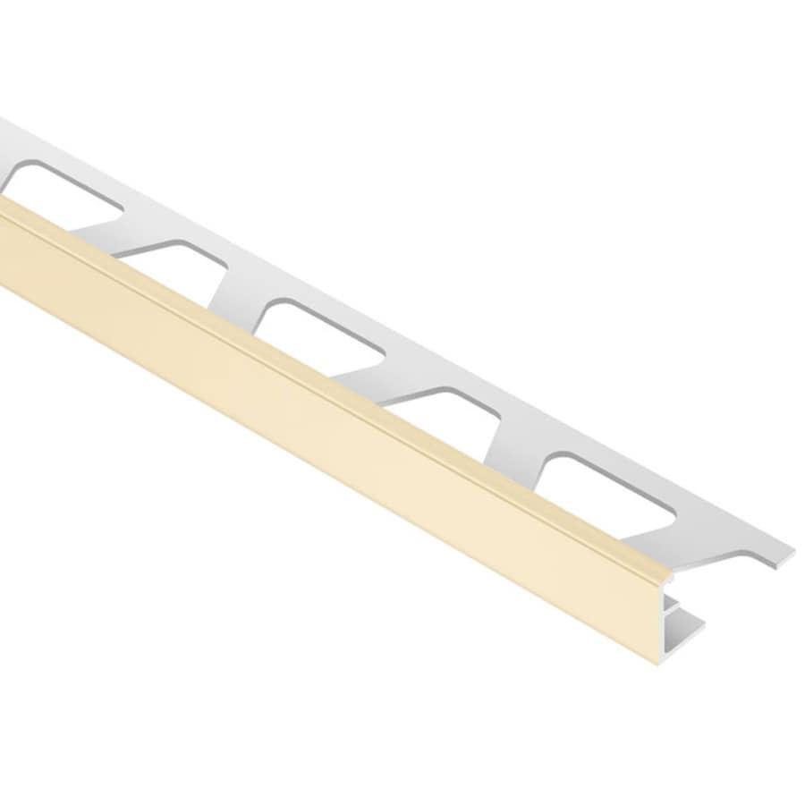 Schluter Systems Jolly 0.313-in W x 98.5-in L PVC Tile Edge Trim