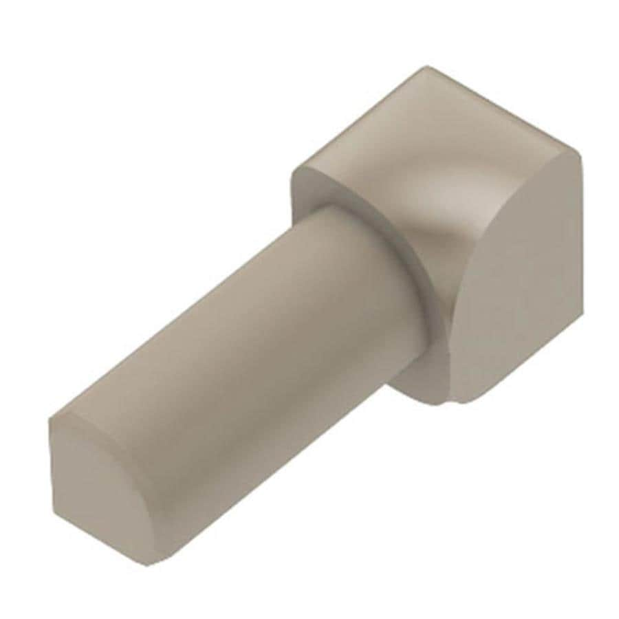 Schluter Systems 0.25-in W x 1-in L PVC Commercial/Residential Tile Edge Trim