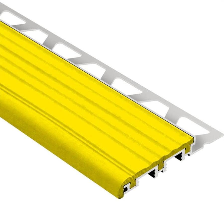 Schluter Systems Trep-B 0.375-in W x 98.5-in L Aluminum Tile Edge Trim