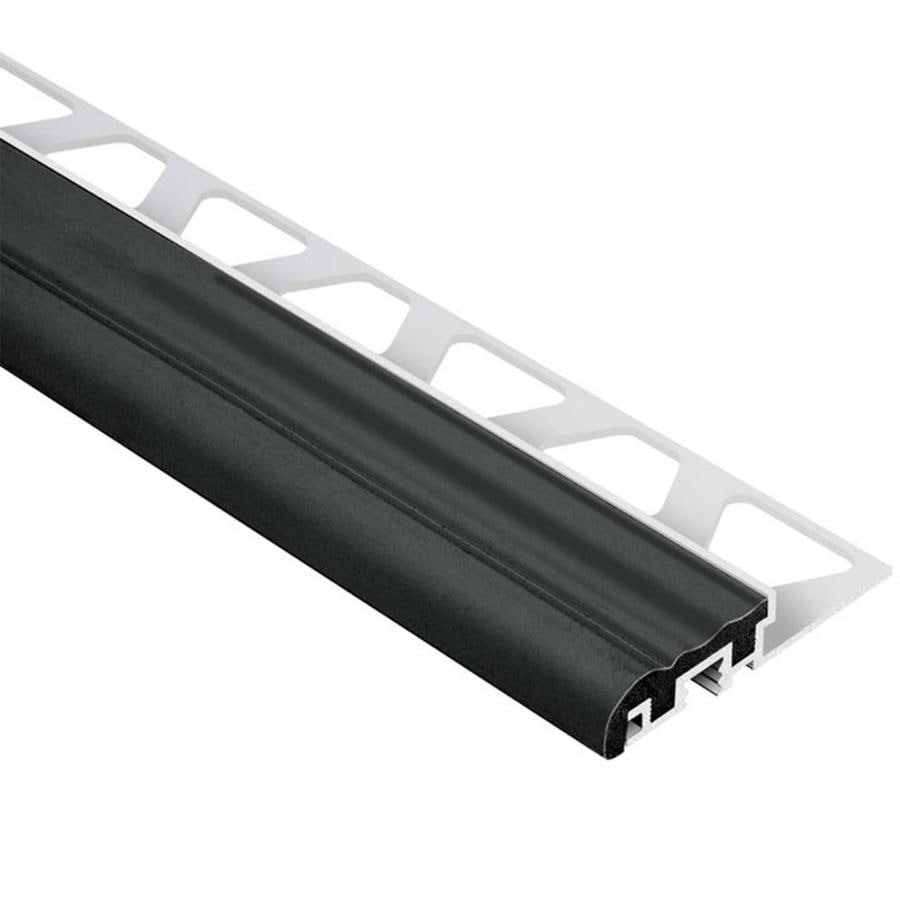 Schluter Systems Trep-S 0.313-in W x 98.5-in L Aluminum Tile Edge Trim