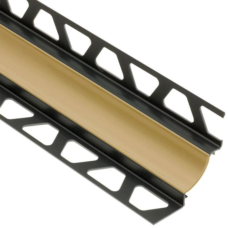 Schluter Systems 0.344-in W x 98.5-in L PVC Commercial/Residential Tile Edge Trim