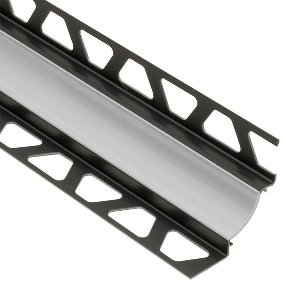 Schluter Systems 0.438-in W x 98.5-in L Pvc Commercial/Residential Tile Edge Trim
