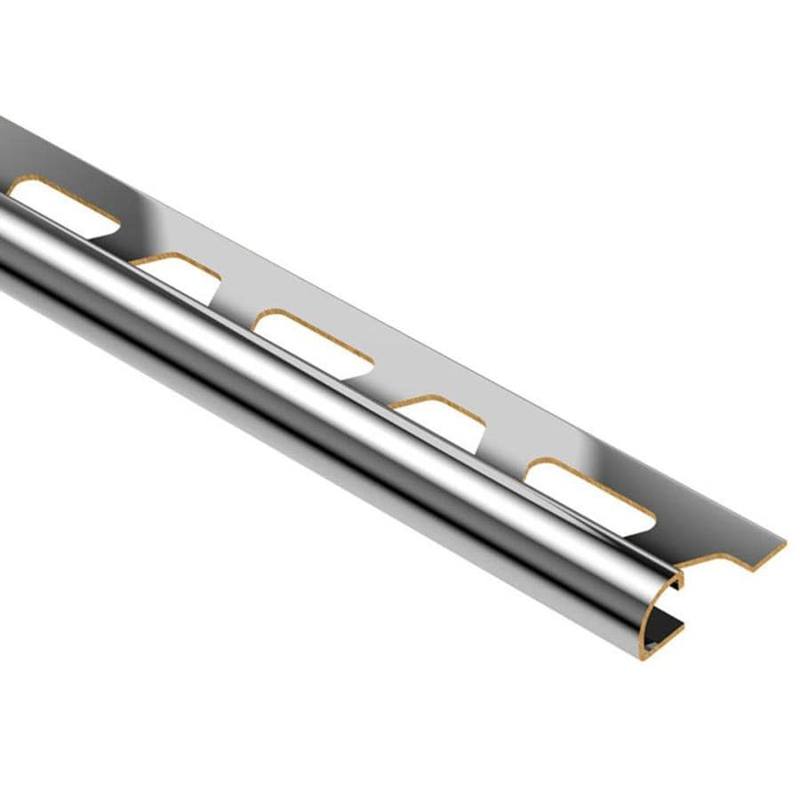 Schluter Systems Rondec 0.5-in W x 98.5-in L Brass Tile Edge Trim