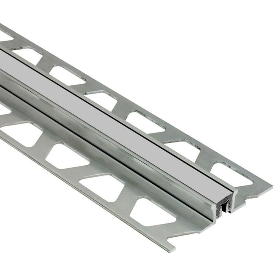 Schluter Systems Dilex-KSN 0.5-in W x 98.5-in L Aluminum Commercial/Residential Tile Edge Trim