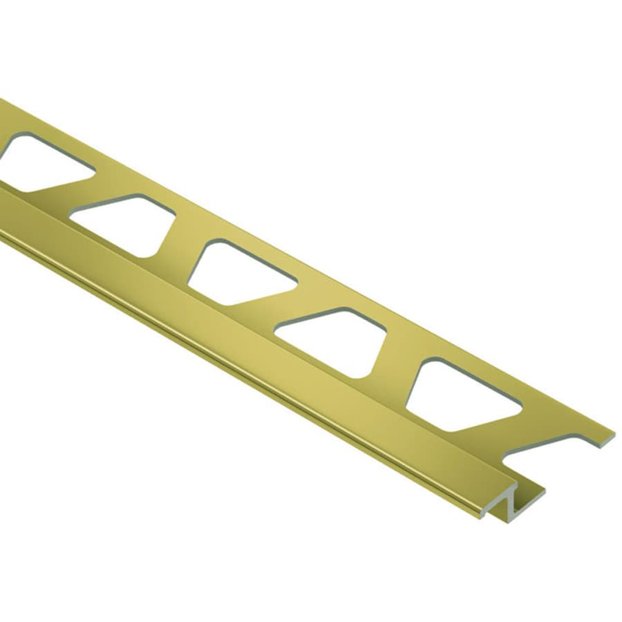 Schluter Systems Reno-TK 0.25-in W x 98.5-in L Aluminum Tile Edge Trim