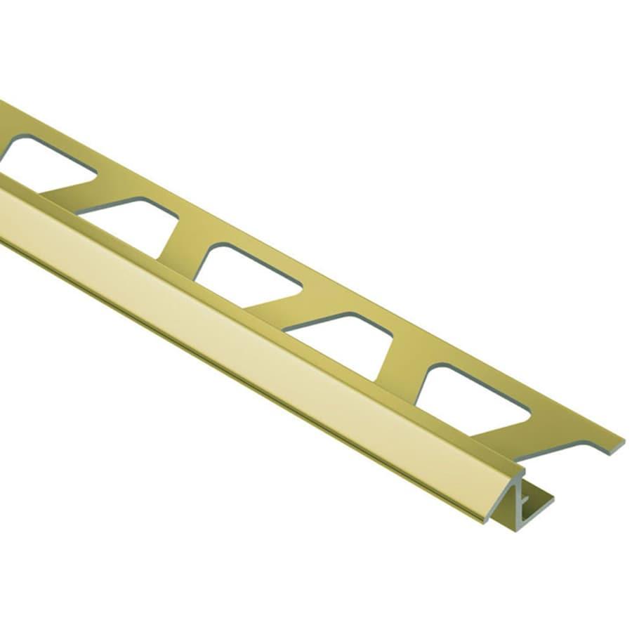 Schluter Systems Reno-TK 0.375-in W x 98.5-in L Aluminum Tile Edge Trim