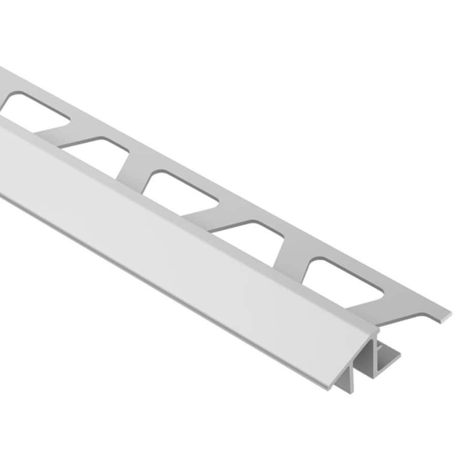 Schluter Systems Reno-TK 0.5-in W x 98.5-in L Aluminum Tile Edge Trim