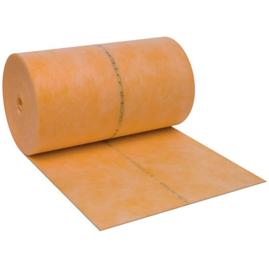 Schluter Systems 0-sq ft 0.004-in Orange Plastic Commercial/Residential Tile Membrane