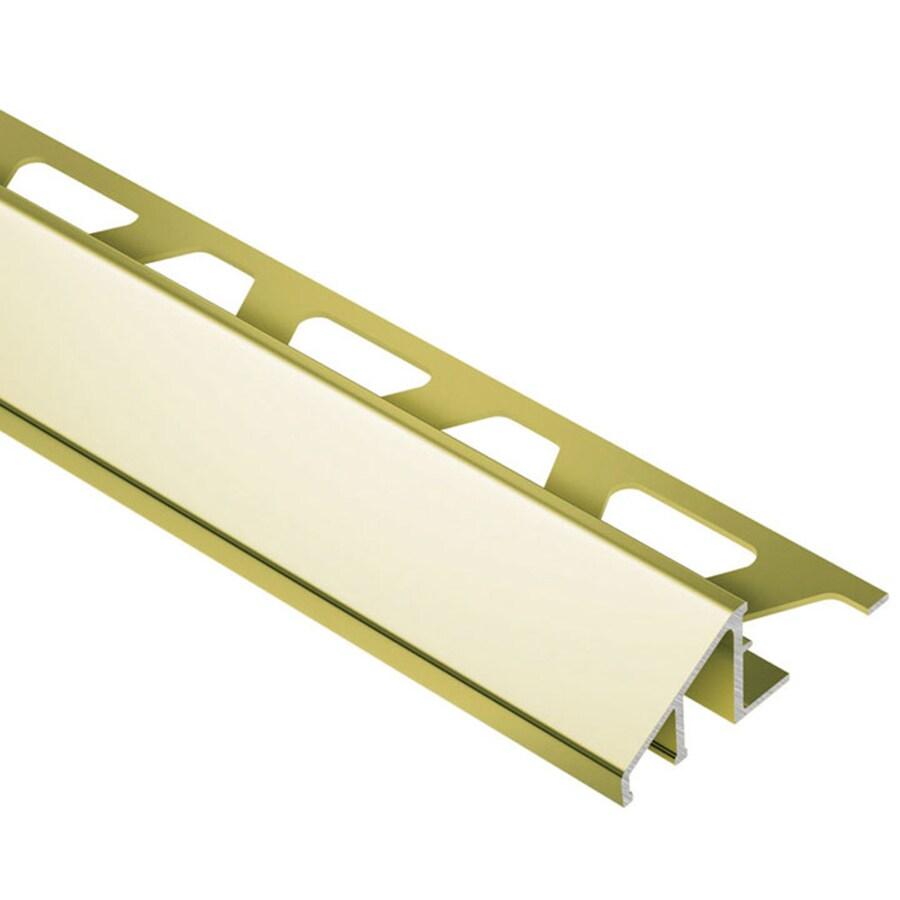 Schluter Systems Reno-u 0.5-in W x 98.5-in L Aluminum Tile Edge Trim