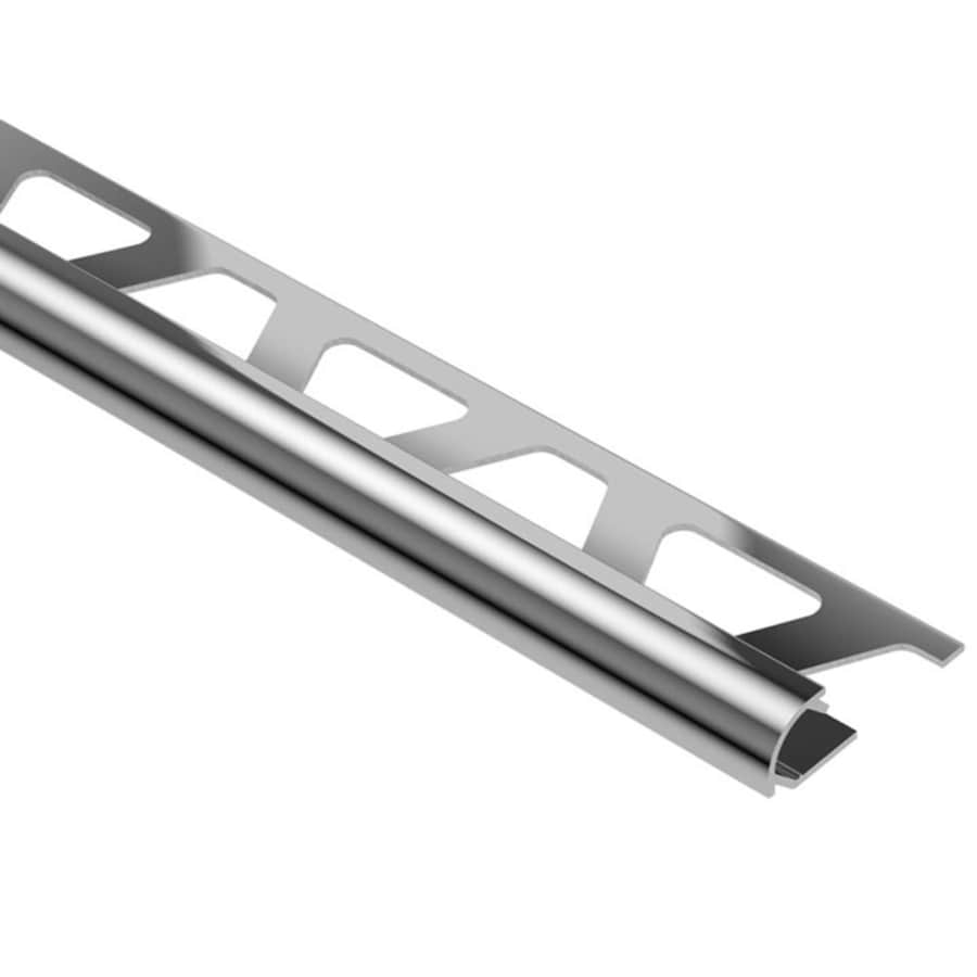 Schluter Systems Rondec 0.375-in W x 98.5-in L Aluminum Commercial/Residential Tile Edge Trim