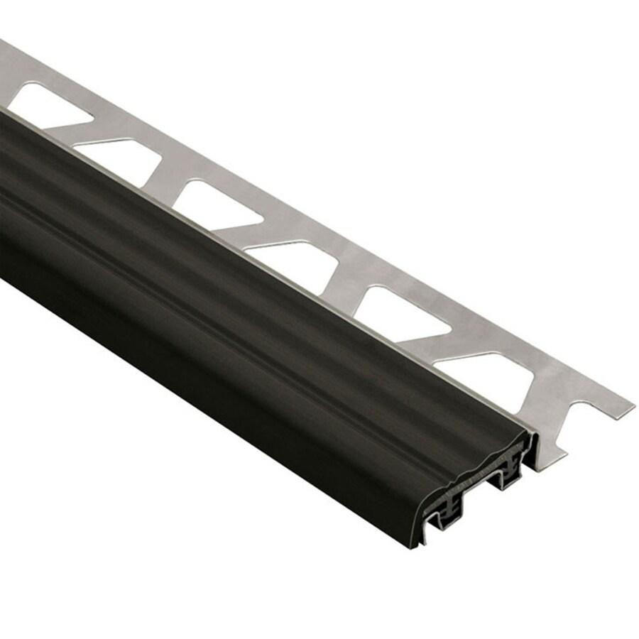 Schluter Systems Trep-SE 0.313-in W x 98.5-in L Steel Tile Edge Trim