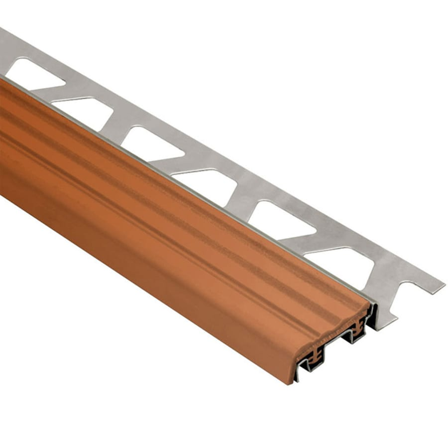 Schluter Systems Trep-SE 0.375-in W x 98.5-in L Steel Tile Edge Trim