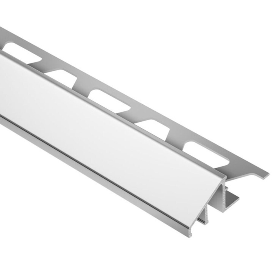 Schluter Systems Reno-U 0.563-in W x 98.5-in L Steel Tile Edge Trim
