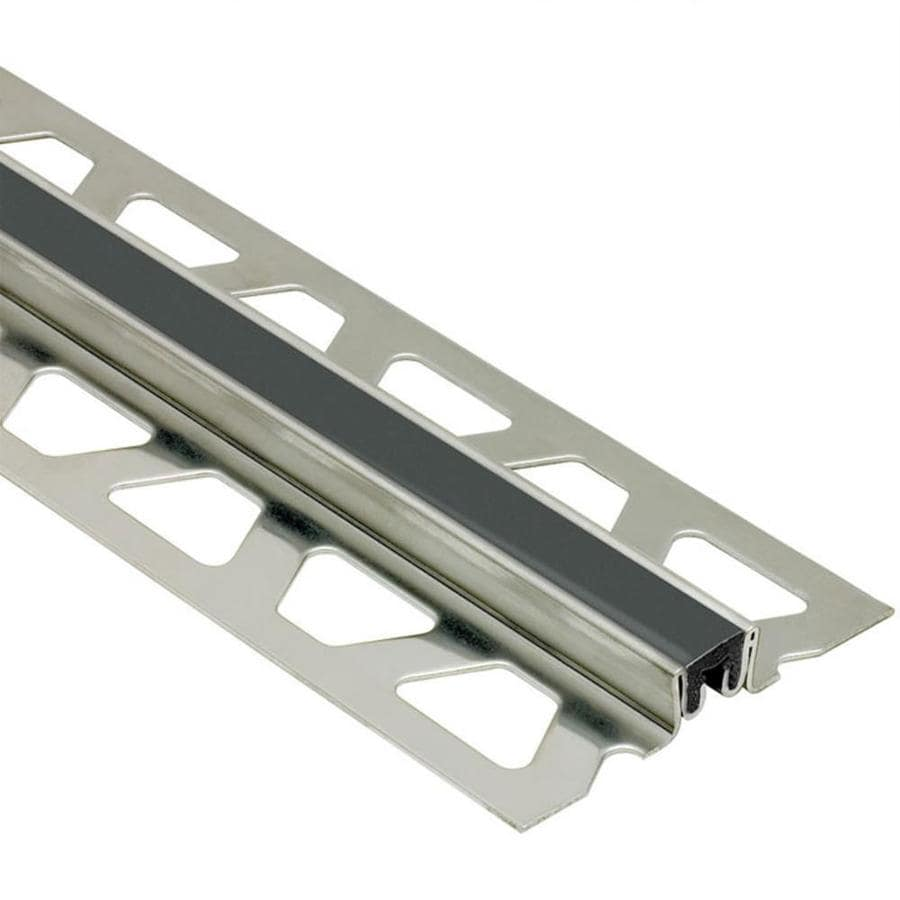 Schluter Systems Dilex-KSN 0.5-in W x 98.5-in L Steel Tile Edge Trim