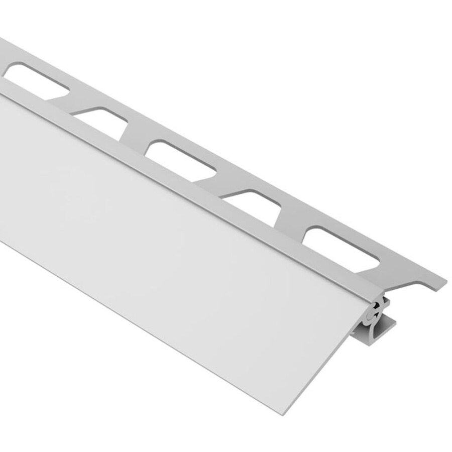 Schluter Systems Reno-V 0.313-in W x 98.5-in L Aluminum Tile Edge Trim