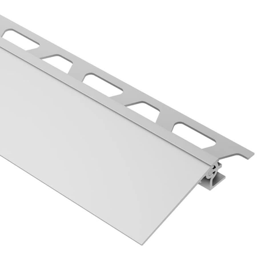 Schluter Systems Reno-V 0.375-in W x 98.5-in L Aluminum Tile Edge Trim