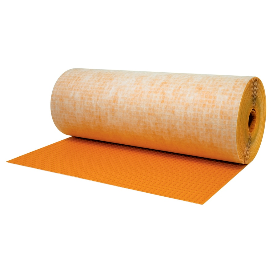 Shop Schluter Systems Ditra 54 Sq Ft Orange Plastic