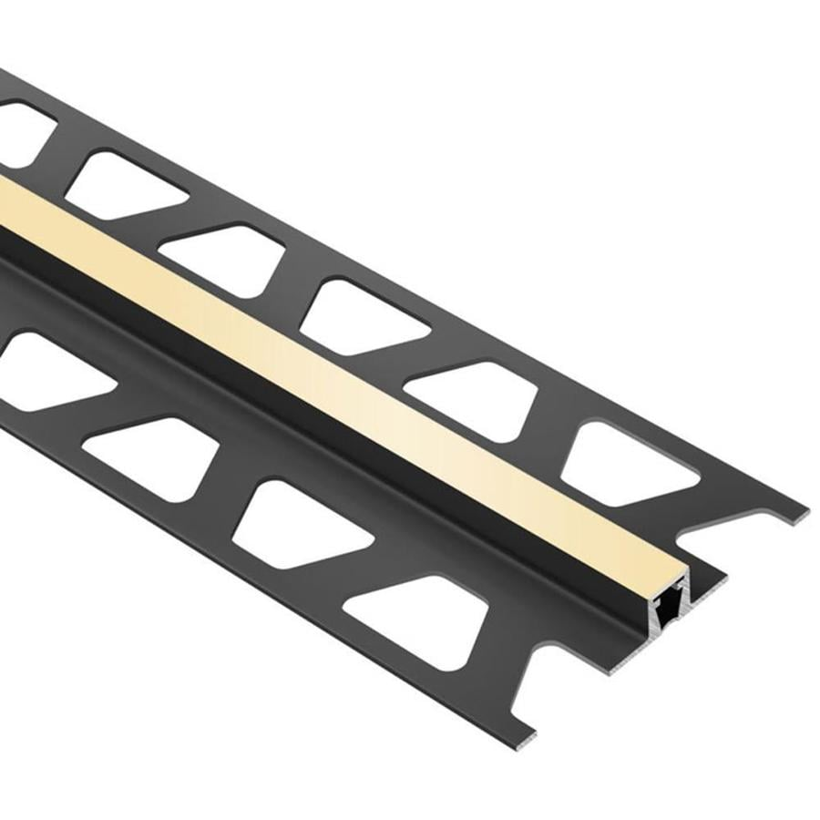 Schluter Systems Dilex-BWB 0.5-in W x 98.5-in L PVC Tile Edge Trim