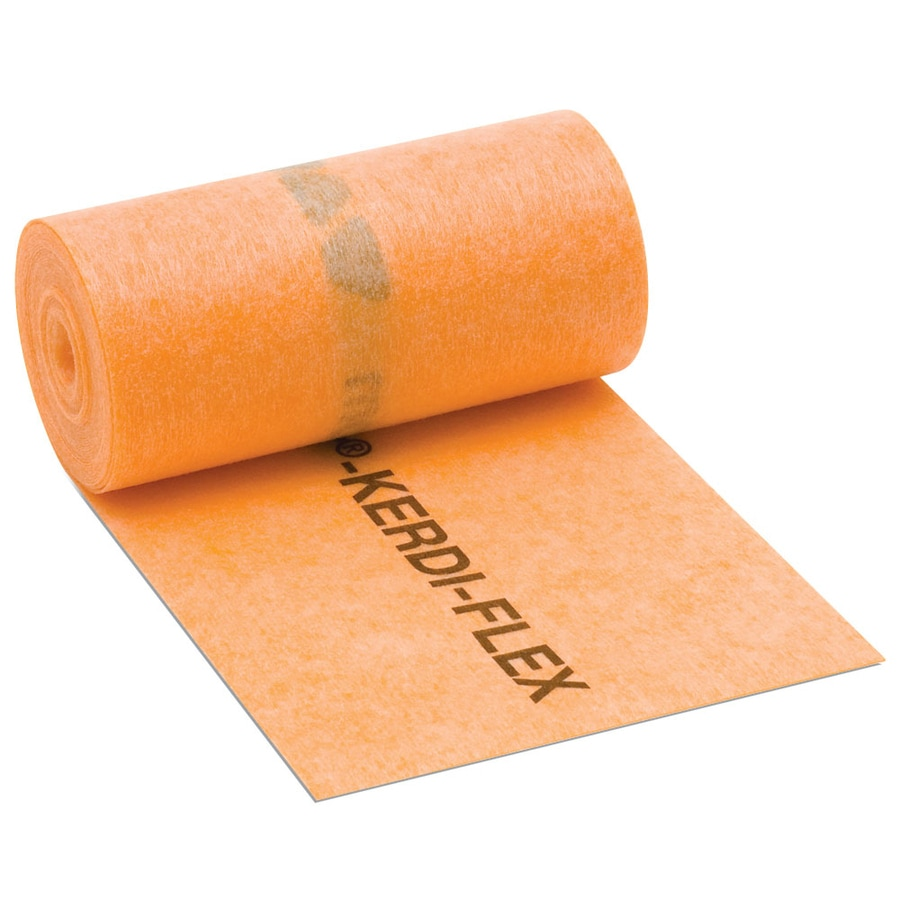 Schluter Systems 0-sq ft 0.012-in Orange Plastic Commercial/Residential Tile Membrane