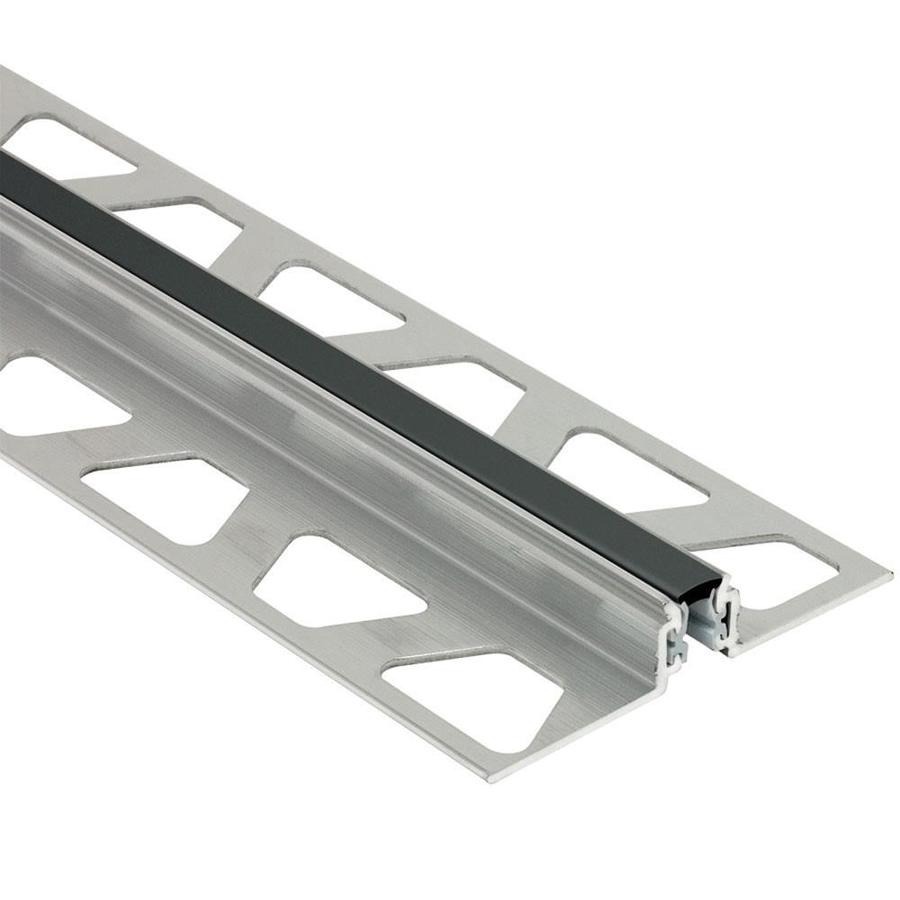 Schluter Systems 0.531-in W x 98.5-in L Aluminum Commercial/Residential Tile Edge Trim