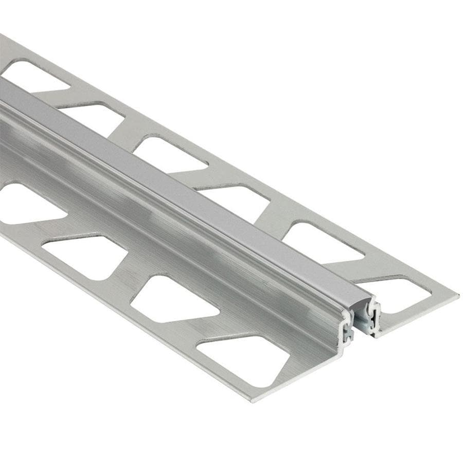 Schluter Systems Dilex-AKWS 0.625-in W x 98.5-in L Aluminum Tile Edge Trim
