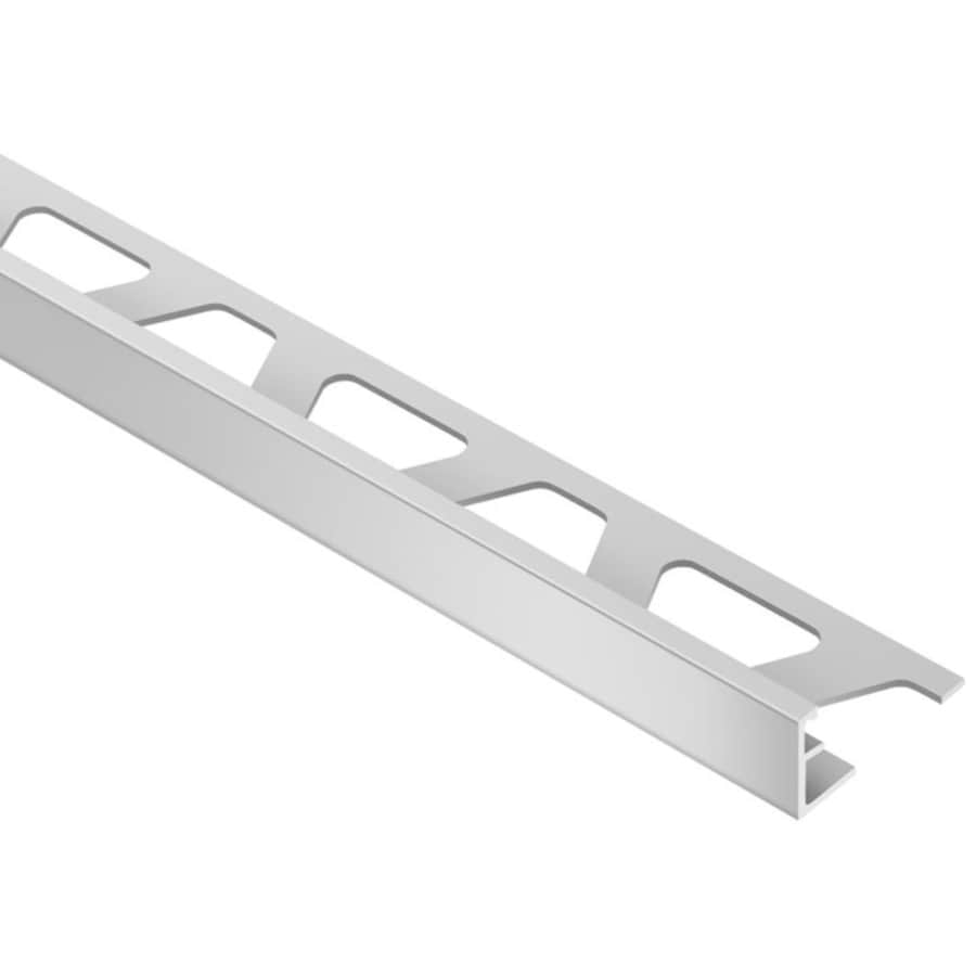 Schluter Systems 0.281-in W x 98.5-in L Aluminum Commercial/Residential Tile Edge Trim