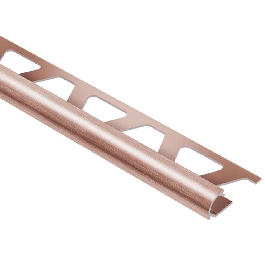Schluter Systems Rondec 0.313-in W x 98.5-in L Aluminum Tile Edge Trim