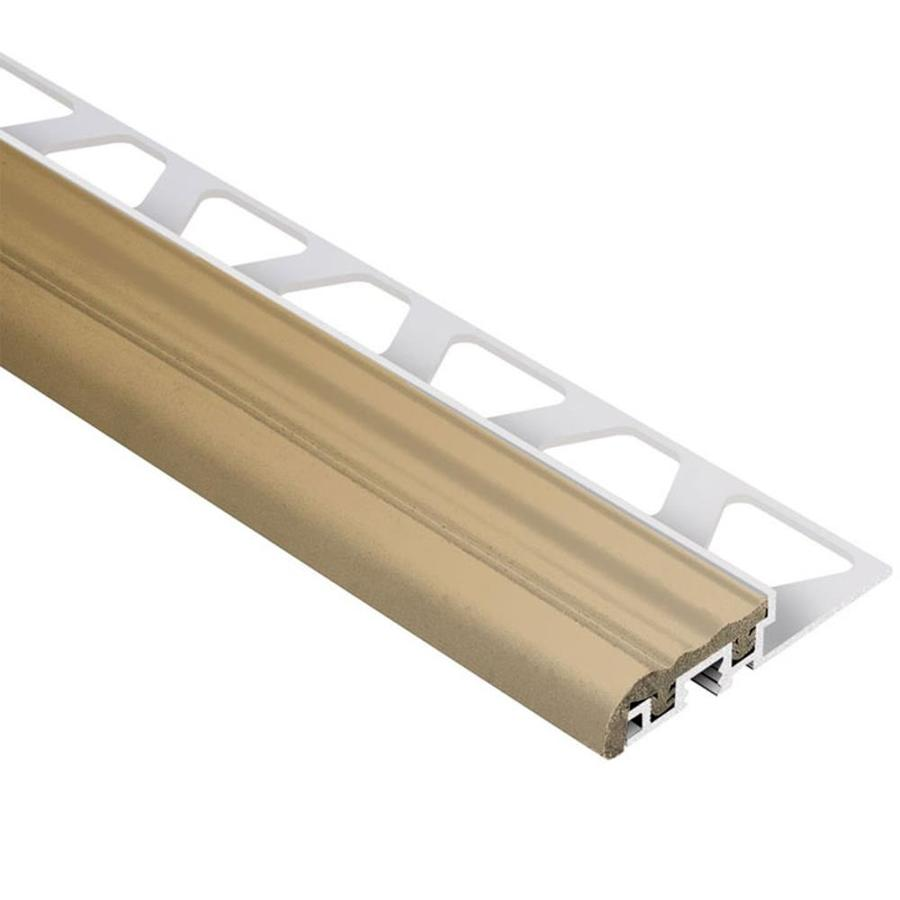Schluter Systems Trep-S 0.375-in W x 59-in L Aluminum Tile Edge Trim