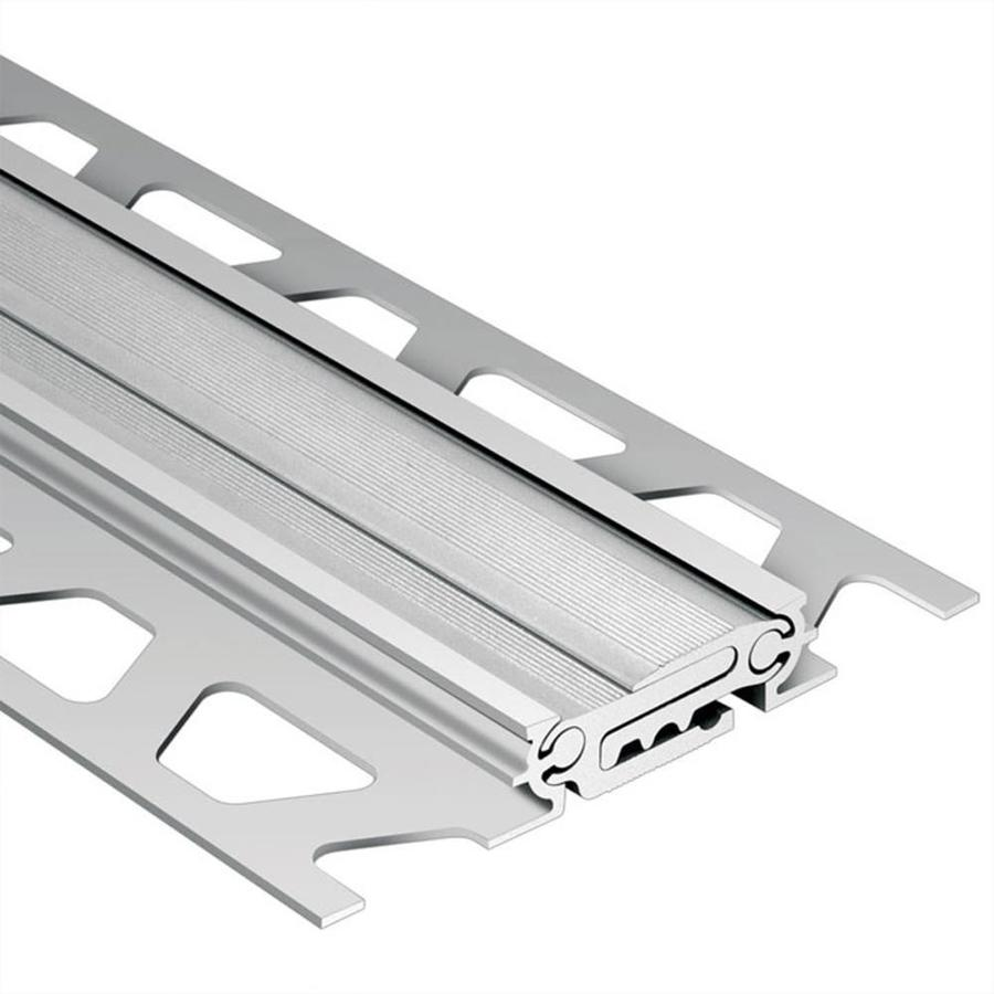 Schluter Systems Dilex-BT 0.313-in W x 98.5-in L Aluminum Tile Edge Trim