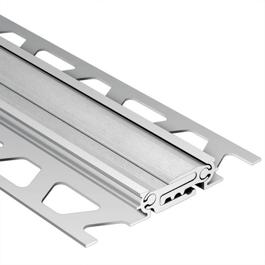 Schluter Systems Dilex-BT 0.75-in W x 98.5-in L Aluminum Tile Edge Trim