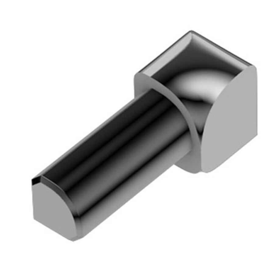 Schluter Systems Rondec 0.375-in W x 1-in L Aluminum Tile Edge Trim