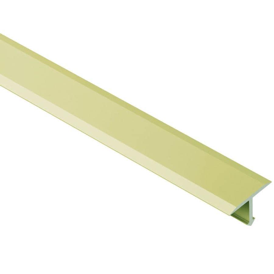 Schluter Systems Reno-T 0.344-in W x 98.5-in L Aluminum Tile Edge Trim
