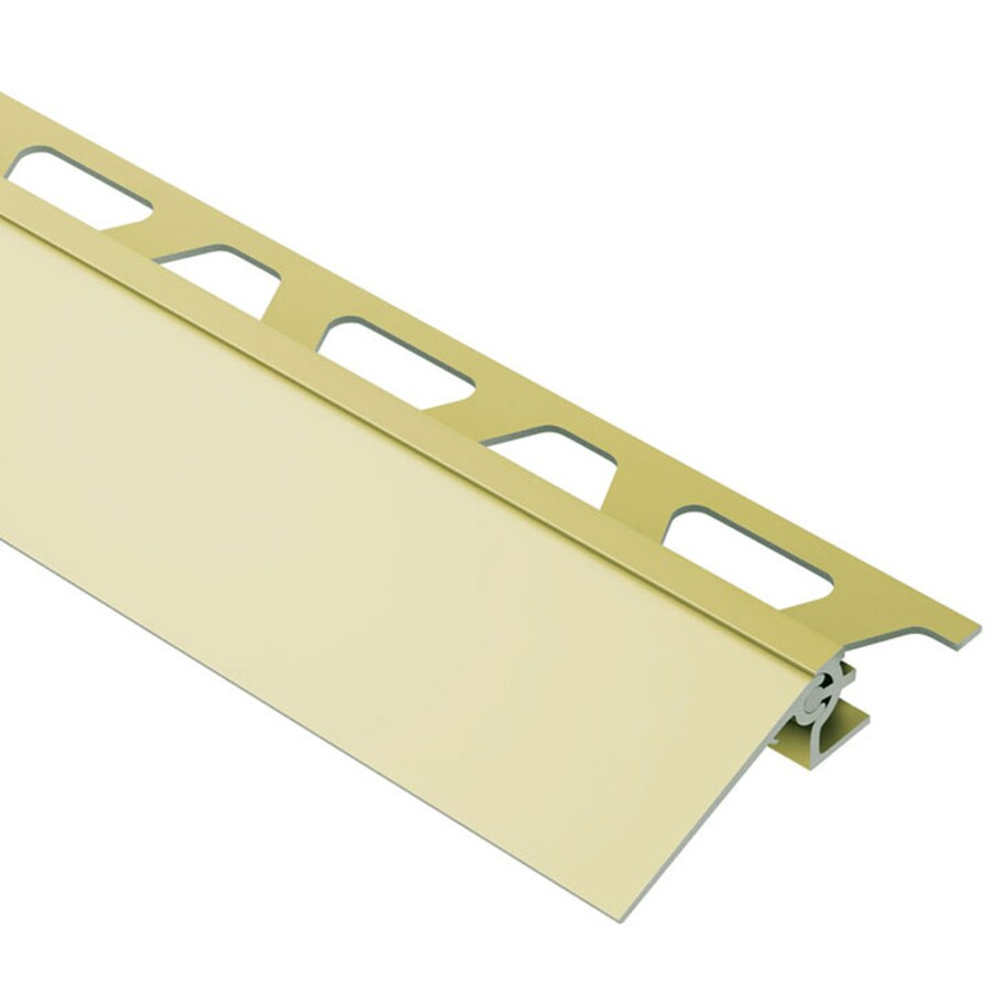 Schluter Systems Reno-V 0.688-in W x 98.5-in L Aluminum Tile Edge Trim