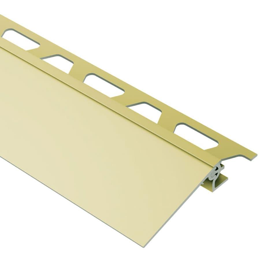 Schluter Systems Reno-V 0.563-in W x 98.5-in L Aluminum Tile Edge Trim