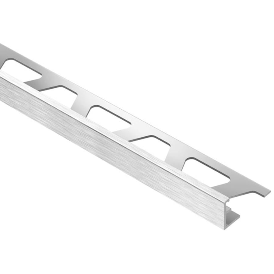 Schluter Systems Jolly 0.375-in W x 98.5-in L Aluminum Commercial/Residential Tile Edge Trim