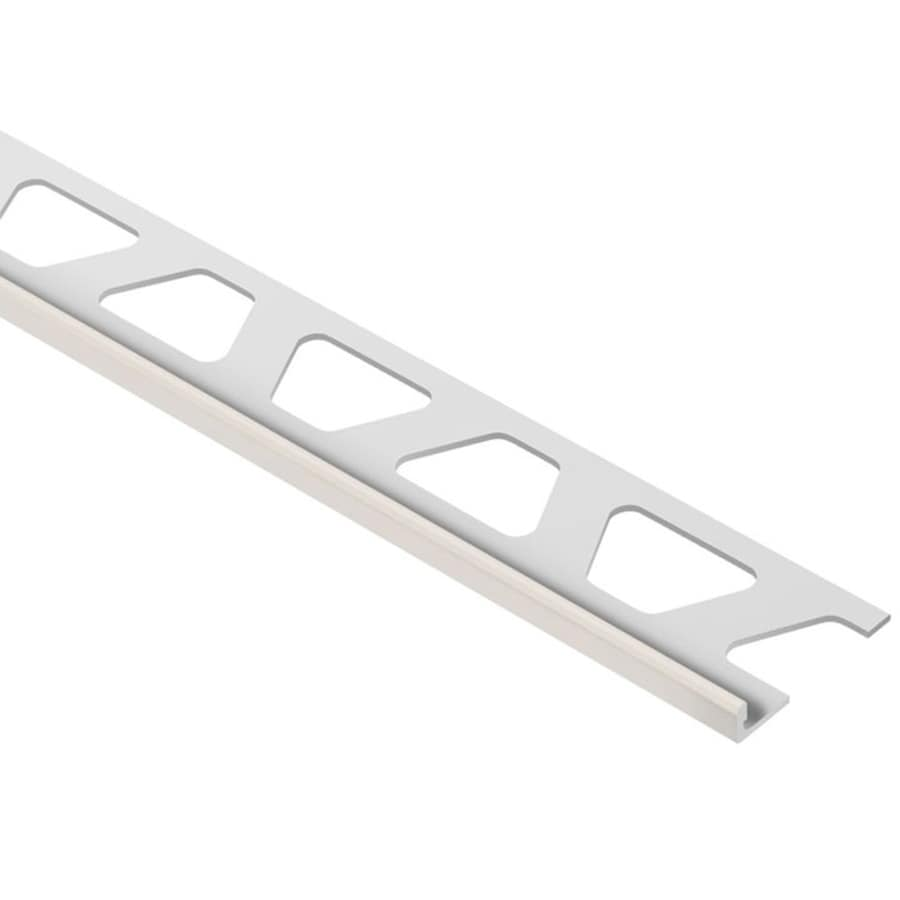 Schluter Systems 0.125-in W x 98.5-in L Aluminum Commercial/Residential Tile Edge Trim