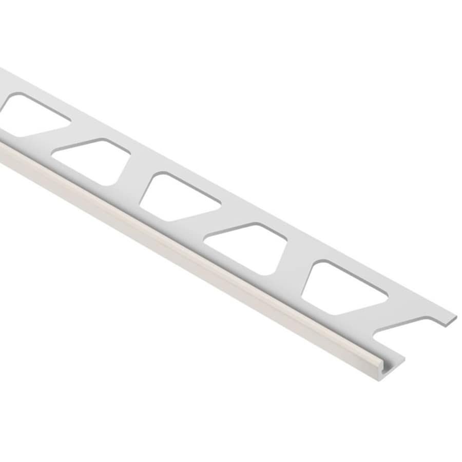Schluter Systems Jolly 0.188-in W x 98.5-in L Aluminum Tile Edge Trim