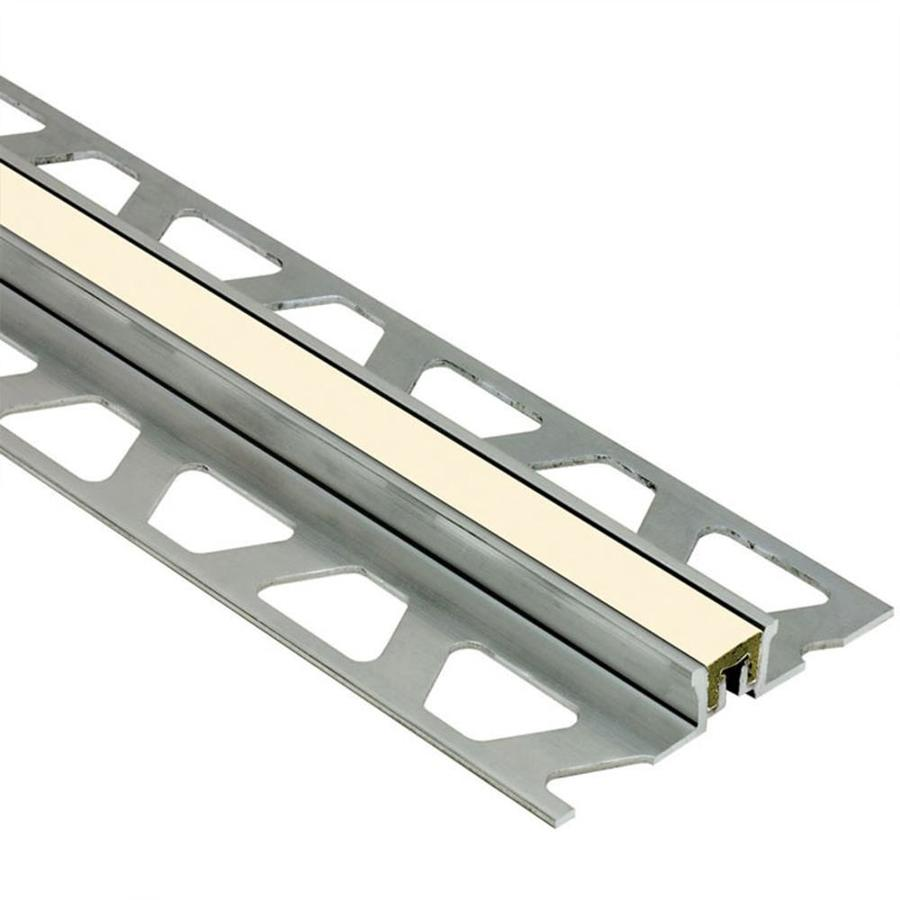 Schluter Systems Dilex-KSN 0.625-in W x 98.5-in L Aluminum Tile Edge Trim