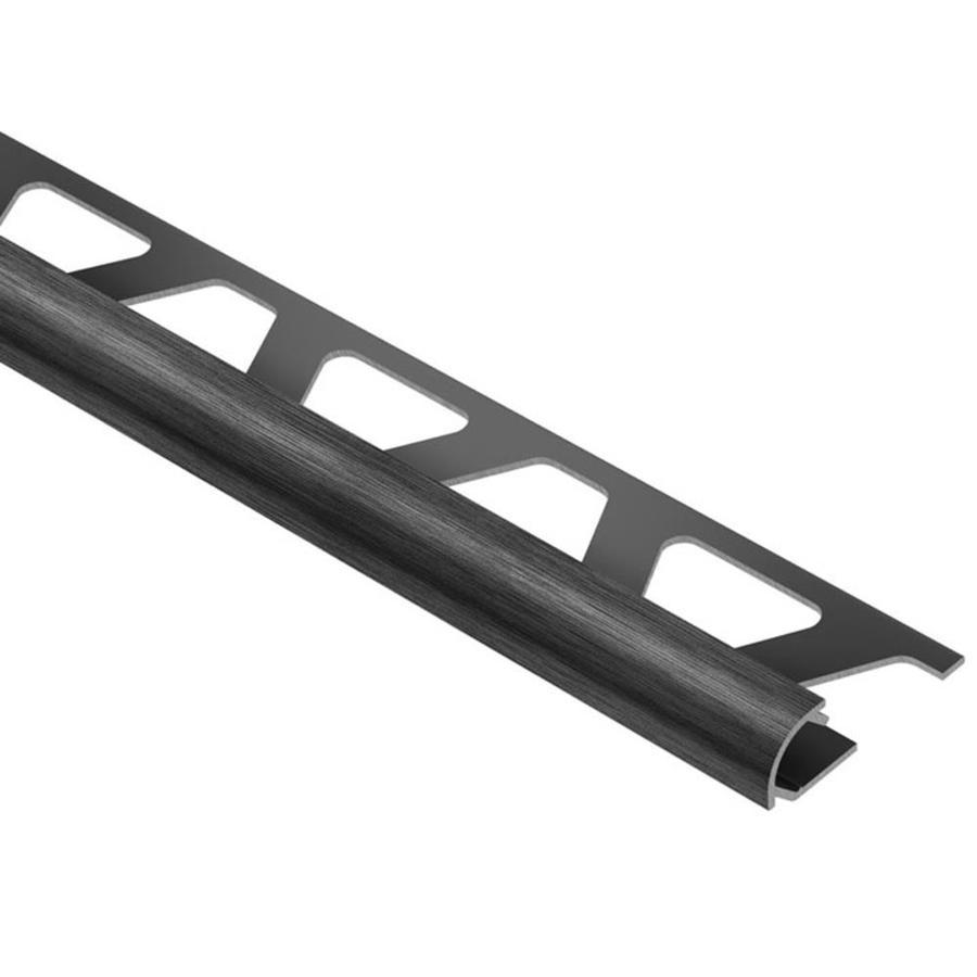 Schluter Systems Rondec 0.5-in W x 98.5-in L Aluminum Tile Edge Trim