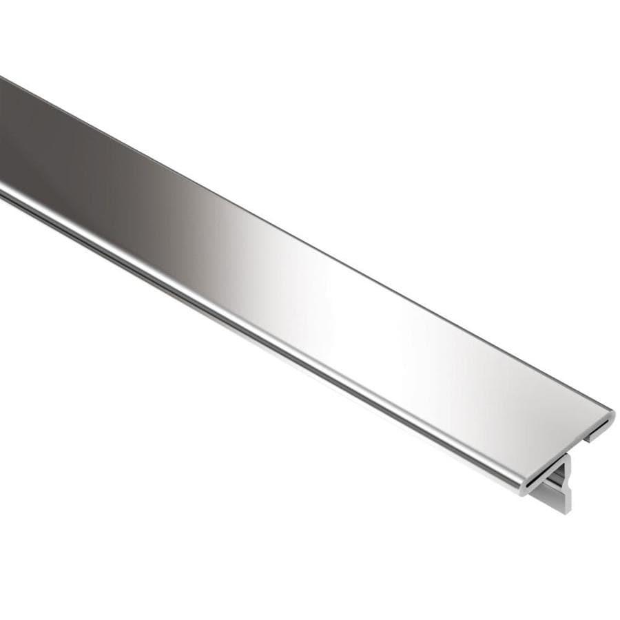 Schluter Systems Reno-T 0.344-in W x 98.5-in L Steel Tile Edge Trim