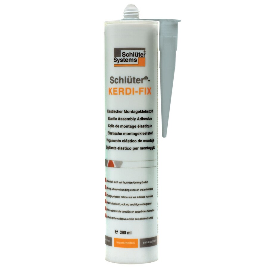 Schluter Systems KERDI-FIX Sealing/Bonding Compound Grey